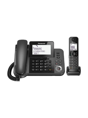 تلفن رومیزی و بیسیم پاناسونیک مدل KX-TGF320