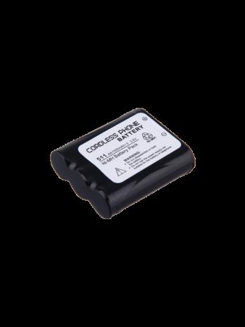 باتری تلفن بیسیم پاناسونیک مدلP511