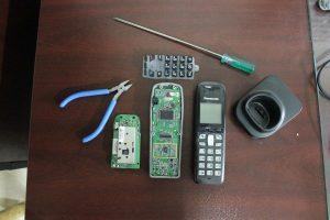 تعمیر صفحه کلید تلفن