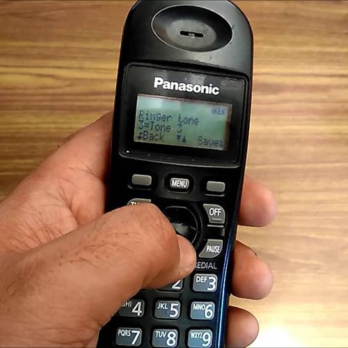 تنظیمات تلفن بیسیم پاناسونیک